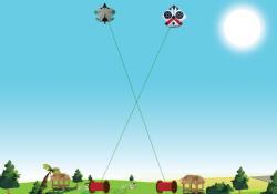 kite fghting